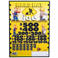 Hardhat Joe 5 Window Pull Tab Tickets - 4000 Tickets per Deal - Total Payout: $3000
