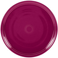 Homer Laughlin 505341 Fiesta Claret 15 inch Pizza / Baking Tray   - 4/Case