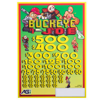 Buckeye Joe 5 Window Pull Tab Tickets - 4000 Tickets per Deal - Total Payout: $3000