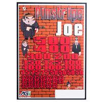 Pinstripe Joe 5 Window Pull Tab Tickets - 4000 Tickets per Deal - Total Payout: $3000