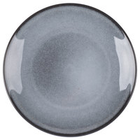 Homer Laughlin 220441438 Brownfield 6 1/2 inch Pewter Plate - 36/Case