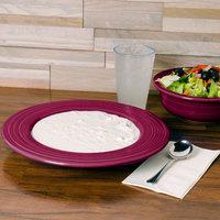 Homer Laughlin 462341 Fiesta Claret 21 oz. Pasta Bowl - 12/Case