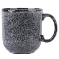 Homer Laughlin 224041438 Brownfield 14 oz. Pewter Cafe Mug - 12/Case