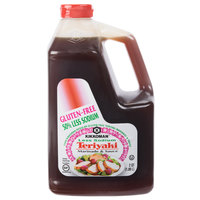 Kikkoman .5 Gallon Less Sodium Gluten Free Teriyaki Marinade and Sauce   - 6/Case