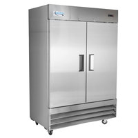 Avantco A-49R-HC 54 inch Solid Door Reach-In Refrigerator