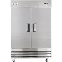 Avantco A-49F-HC 54 inch Solid Door Reach-In Freezer