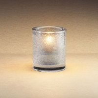 Sterno Products 80176 3 1/4 inch Clear Mini Bubbles Liquid Candle Holder