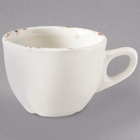 Homer Laughlin 50741301 Cottage Brun 4 oz. A.D. Demitasse Cup - 36/Case