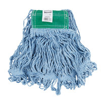 Rubbermaid FGD25206BL00 Blue Medium Super Stitch Blend Mop Head with 5 inch Headband