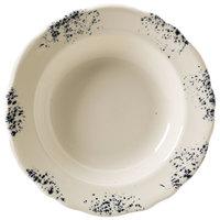 Homer Laughlin 56441300 Cottage Bleu 12 oz. Scalloped Edge Soup Bowl - 24/Case