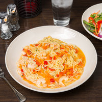 Homer Laughlin 13139200 FlipSide 62 oz. Ivory (American White) Salad / Pasta Bowl - 12/Case