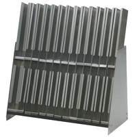 Eagle Group BRM-24CT Spec-Bar 12 inch x 24 inch Stainless Steel Countertop Mini Bottle Rack