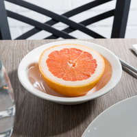 Syracuse China 905356835 Slenda 11 oz. Royal Rideau White Round Porcelain Grapefruit Bowl - 36/Case