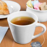 Syracuse China 950033506 Slenda 7 oz. Royal Rideau White Porcelain Tea Cup - 36/Case