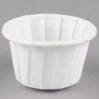 Dart Solo SCC050 0.5 oz. White Paper Souffle / Portion Cup - 5000/Case