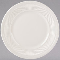 Tuxton HEA-091 Hampshire 9 inch Eggshell Embossed China Plate - 24/Case