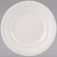 Tuxton HEA-071 Hampshire 7 inch Eggshell Embossed China Plate - 36/Case