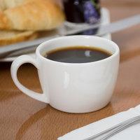 Syracuse China 905356509 Slenda 2.75 oz. Royal Rideau White Low Espresso Cup - 36/Case