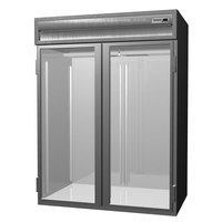 Delfield SAHRI2-G 74.72 Cu. Ft. Two Section Glass Door Roll In Heated Holding Cabinet - Specification Line