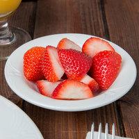 Syracuse China 950041892 Cafe Royal 4 oz. Royal Rideau White Porcelain Fruit Bowl - 36/Case