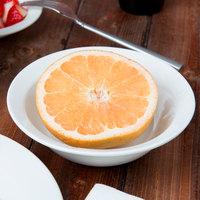 Syracuse China 950041882 Cafe Royal 11 oz. Royal Rideau White Porcelain Grapefruit Bowl - 36/Case