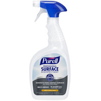 Purell 3342-03 1 Qt. / 32 oz. Fresh Citrus Professional Surface Disinfectant - 3/Case