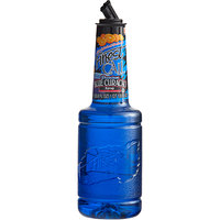 Finest Call 1 Liter Premium Blue Curacao Syrup