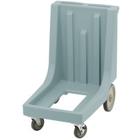 Cambro CD100HB401 Slate Blue Camdolly for Cambro Camcarriers and Camtainers with Handle & Rear Easy Wheels
