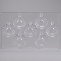 Matfer 380255 7 Expresso Cups Chocolate Mold