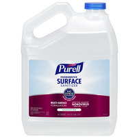 Purell 4341-04 1 Gallon / 128 oz. Fragrance Free Foodservice Surface Sanitizer - 4/Case
