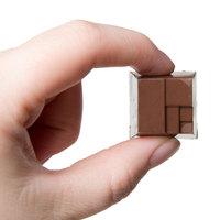 Matfer Bourgeat 380112 Polycarbonate 28 Compartment Wickerwork Square Chocolate Mold