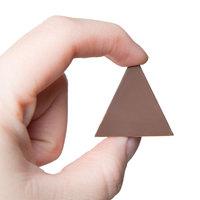 Matfer Bourgeat 380123 Polycarbonate 21 Compartment Pyramid Chocolate Mold