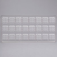 Matfer Bourgeat 383407 24 Compartment Lego Pieces Chocolate Mold