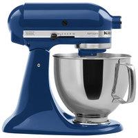 KitchenAid KSM150PSBW Blue Willow Artisan Series 5 Qt. Countertop Mixer
