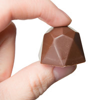 Matfer Bourgeat 380102 Polycarbonate 40 Compartment Diamond Chocolate Mold