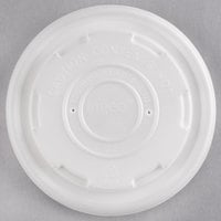 EcoChoice 8 oz. Translucent Compostable Soup / Hot Food Cup Lid - 500/Case