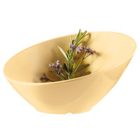 GET B-788-SQ Diamond Harvest 16 oz. Squash Slanted Melamine Catering Bowl - 6/Case