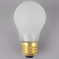 Satco S4882 60 Watt Frosted Shatterproof Finish Incandescent Rough Service Light Bulb - 130V (A15)