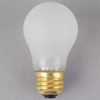 Satco S4882 60 Watt Frosted Shatterproof Finish Incandescent Rough Service Light Bulb - 130V (A15)