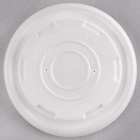 EcoChoice 8 oz. Compostable Soup / Hot Food Cup Lid - 25/Pack