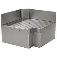 Eagle Group ICWB-19/24L Spec-Bar 90 Degree Left Full Inner Corner Workboard - 19 inch x 24 inch