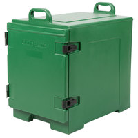 CaterGator 16 3/4 inch x 24 inch x 25 inch Green Front Loading Insulated Food Pan Carrier