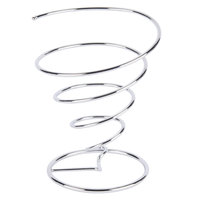 Clipper Mill by GET 4-88807 7 inch Stainless Steel Spiral Cone Basket
