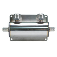 Micro Matic 2838 2-Way Beer Manifold with 2 Barbed Inlets