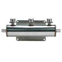 Micro Matic 2840 3-Way Beer Manifold with 2 Barbed Inlets