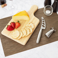 3 Piece Semi-Hard Cheese Knife and Board Set with Button Clincher