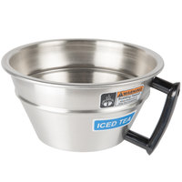 Curtis WC-3320 Stainless Steel Brew Funnel with Handle and Strainer