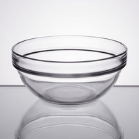 Arcoroc E9160 Stackable 21 oz. Glass Ingredient Bowl by Arc Cardinal   - 36/Case