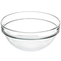 Arc Cardinal Arcoroc E9160 Stackable 21 oz. Glass Ingredient Bowl - 36/Case
