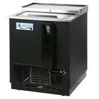 Avantco HBB-25-HC 25 inch Black Horizontal Bottle Cooler